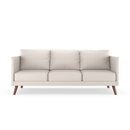Miraculous Cooper Sofa Vegan Leather Ivory Andrewgaddart Wooden Chair Designs For Living Room Andrewgaddartcom