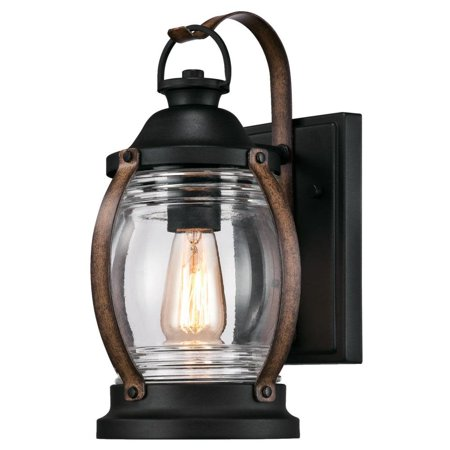Westinghouse 6335100 Canyon Single Light 12 3 8 Tall Outdoor Wall Sconce