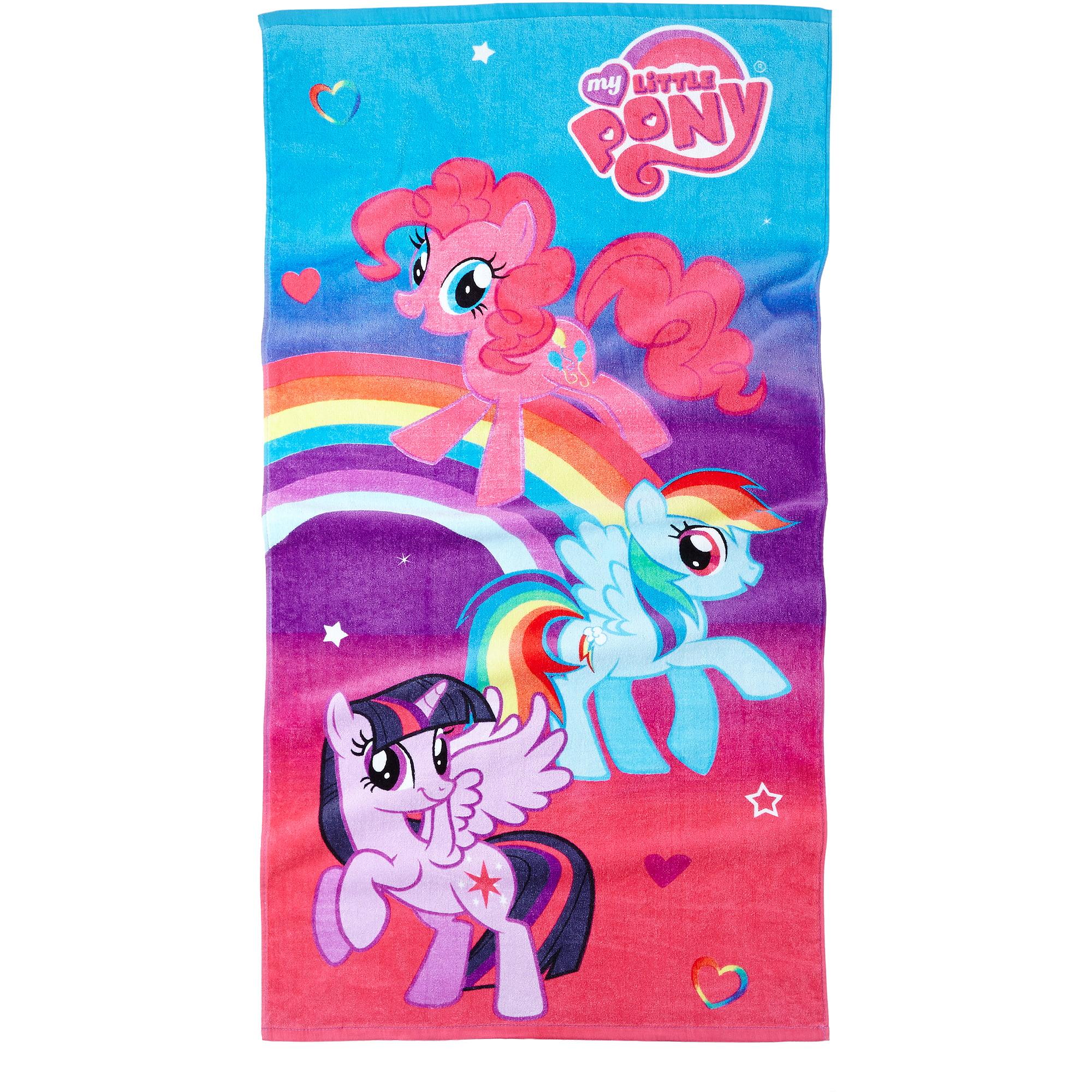universal's my little pony bath towel - walmart