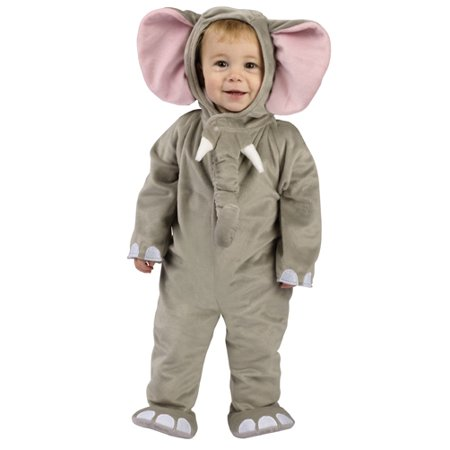 Cuddly Elephant Infant/ Toddler Halloween Costume - Infant Pikachu Halloween Costume