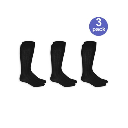 True Rib Dress Socks, 3 Pairs Classic Rib Dress Sock