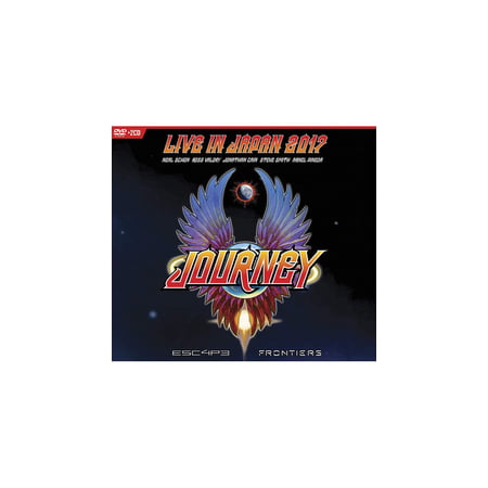 Escape & Frontiers Live In Japan (CD) (Includes DVD) (Deep Purple Live In Japan 1972 Full Concert)