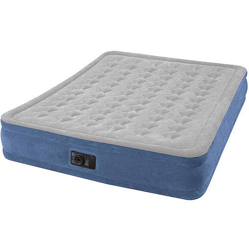 Intex Elevated Airbed with Pump Queen Walmart