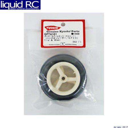 Kyosho America GPTH101 Tire & Wheel (RGV)