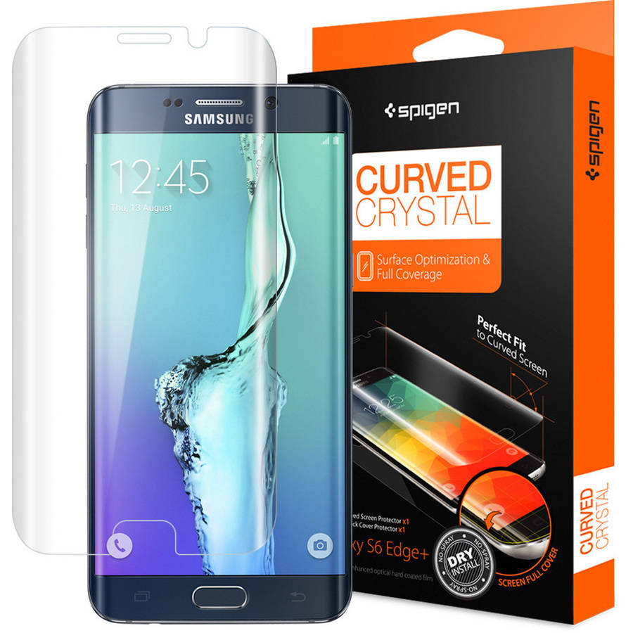 olixar samsung galaxy s6 edge plus curved screen protector the grow