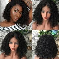 〖Follure〗Brazilian Less Lace Front Full Wig Bob Wave Black Natural Looking Women Wigs