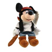 Disney Bean Bag Plush - PIRATE MICKEY (Mickey Mouse) (9 inch)