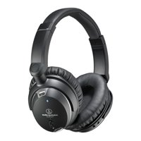 Audio Technica ATH-ANC9 QuietPoint Noise Cancelling Headphones (Black)
