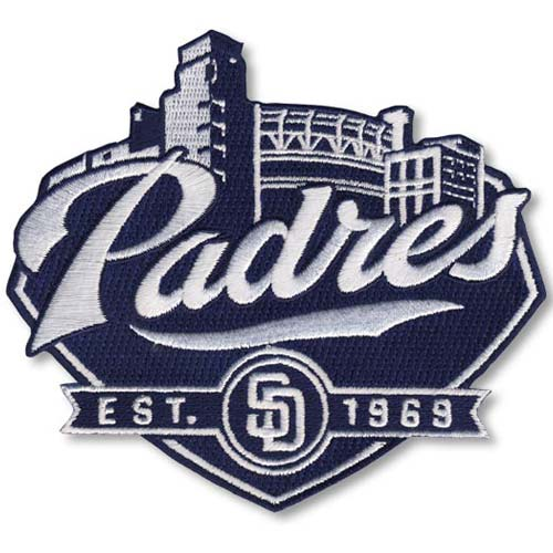 San Diego Padres Secondary Logo Patch - No Size