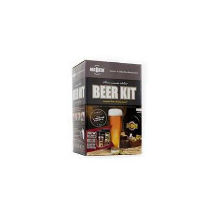 Mr.Beer 20629 Brewmaster's Select Craft Beer Making Kit with Brewing Fermenter, Brewing Hygrometer, Brewing Ingredients, Bottles and Brewing (Stegmaier Beer)