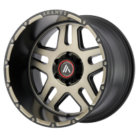 "Asanti AB809 Enforcer 20x9 6x120 +40mm Black/Machined/Tint Wheel Rim 20"" Inch"