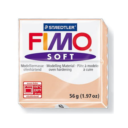 FIMO Soft Modelling Clay 56g Block Flesh