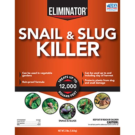 Eliminator Slug and Snail Killer, 3 lbs.
