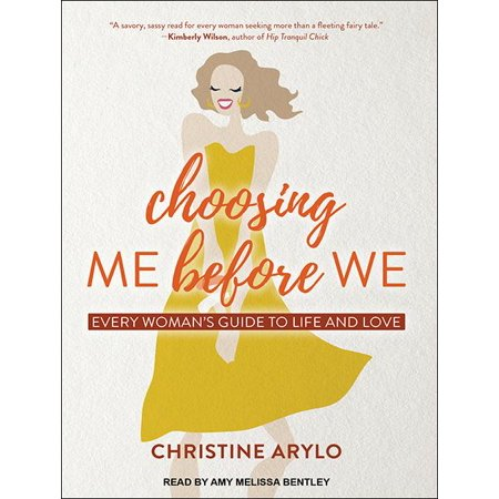 Choosing Me Before We: Every Woman�s Guide to Life and Love (Audiobook) Full of sass, soul, and the type of empowering wisdom that no woman should live without, Choosing ME before WE is like a heart-to-heart with your closest girlfriend. And best of all, you'll discover that your closest girlfriend is your own truest self, inside you, always ready to offer wise, loving advice about what is best for you. Designed to challenge and guide women to create the relationships they want instead of the ones they often find themselves stuck in, this book is packed with stimulating questions to uncover what's true for you, powerful techniques to change old habits that sabotage your dreams, and real-life experiences shared by the author, her friends, and her clients.