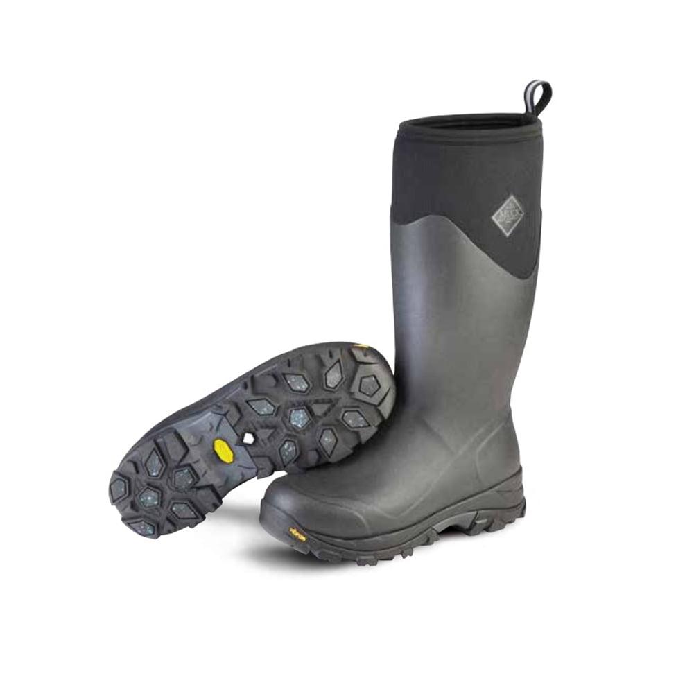 Muck Boot Men's Arctic Ice Sport Snow Boots Black Rubber ...