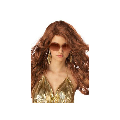 California Costume Collections Auburn Sexy Super Model Wig 70498CAL Red Auburn