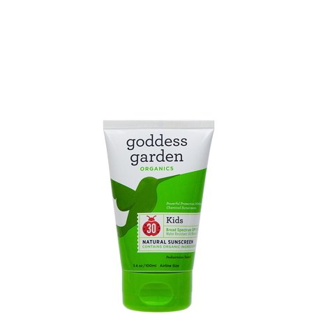 Goddess Garden Kids SPF 30 Natural Sunscreen, Lotion, 3.4 Ounce