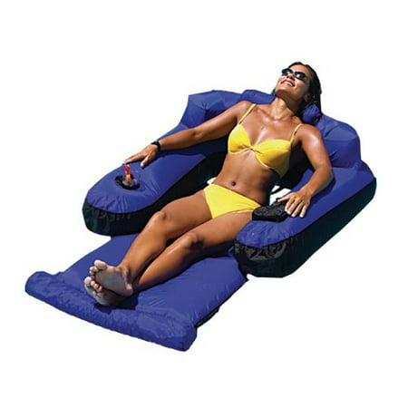 Swimline 9047 Swimming Pool Fabric Inflatable Ultimate Floating Lounger - Pool Floaters