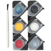 Testors Primary Color Paint Set with Brush Kit