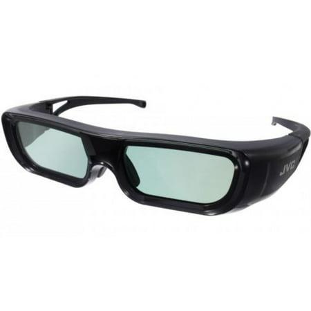 JVC PKAG2B (1 Pair) 1080p USB Rechargeable Active 3D Shutter Glasses PKA-G2B