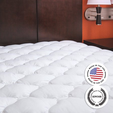 Regency   Extra Plush Marriott Hotel Mattress Pad Topper With Fitted Skirt   Manufacturer Defects