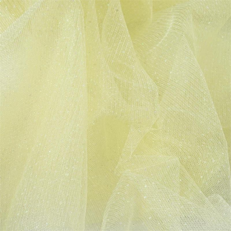 Efavormart 54 inch x 15 yards Glittered Tulle Fabric Bolt For Party Decorations Banquet Event Sewing DIY Crafts Fabrics