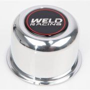 Weld Racing Wheel Center Cap 3.160 in OD Polished Aluminum P/N P605-5073