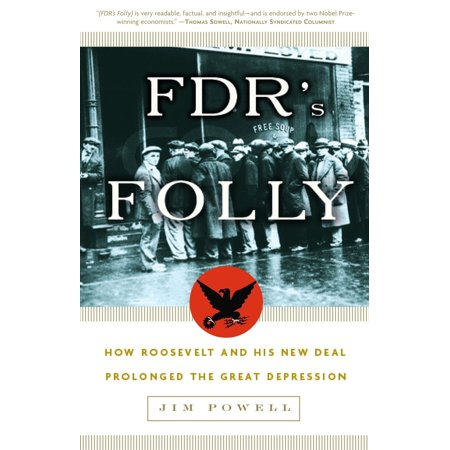 FDR's Folly : How Roosevelt and His New Deal Prolonged the Great (Best Way To Deal With Depression Naturally)