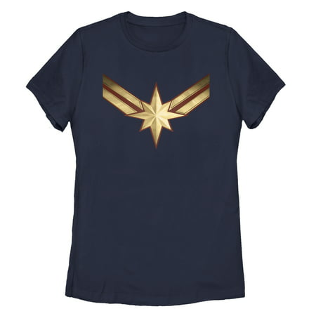 Marvel Women's Captain Marvel Star Symbol Costume T-Shirt](Marvel Villains Women)