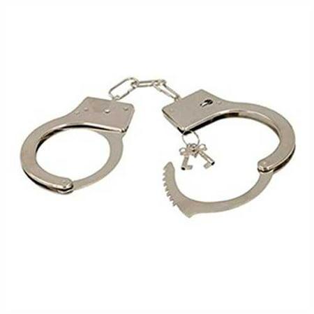 Metal Handcuffs - Rhode Island Bargain Handcuffs