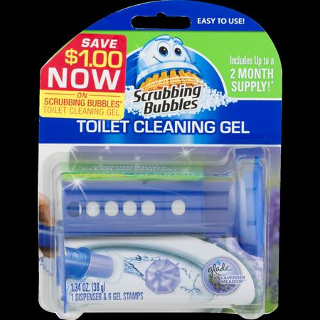 Scrubbing Bubbles Toilet Cleaning Gel Lavender Oz