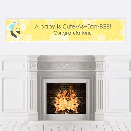 Honey Bee - Baby Shower Decorations Party Banner (Bee Decorations For Classroom)