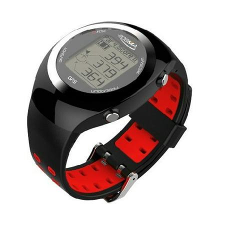 POSMA GT2 Golf Trainer + Activity Tracking GPS Golf Watch Range Finder, Global courses US, Canada, Europe, Australia,