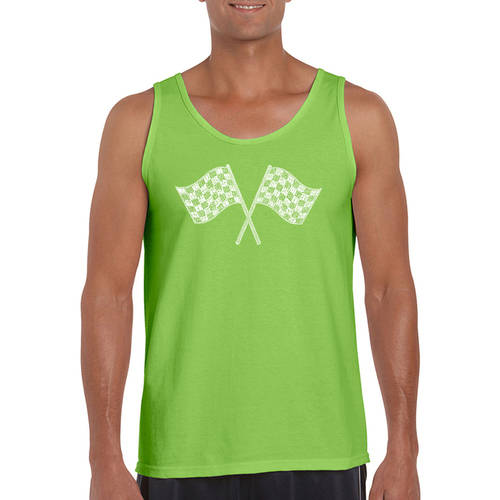 Los angeles pop art Men's tank top - nascar national series race tracks