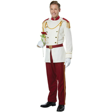 Royal Storybook Prince Adult Costume - Costume Book