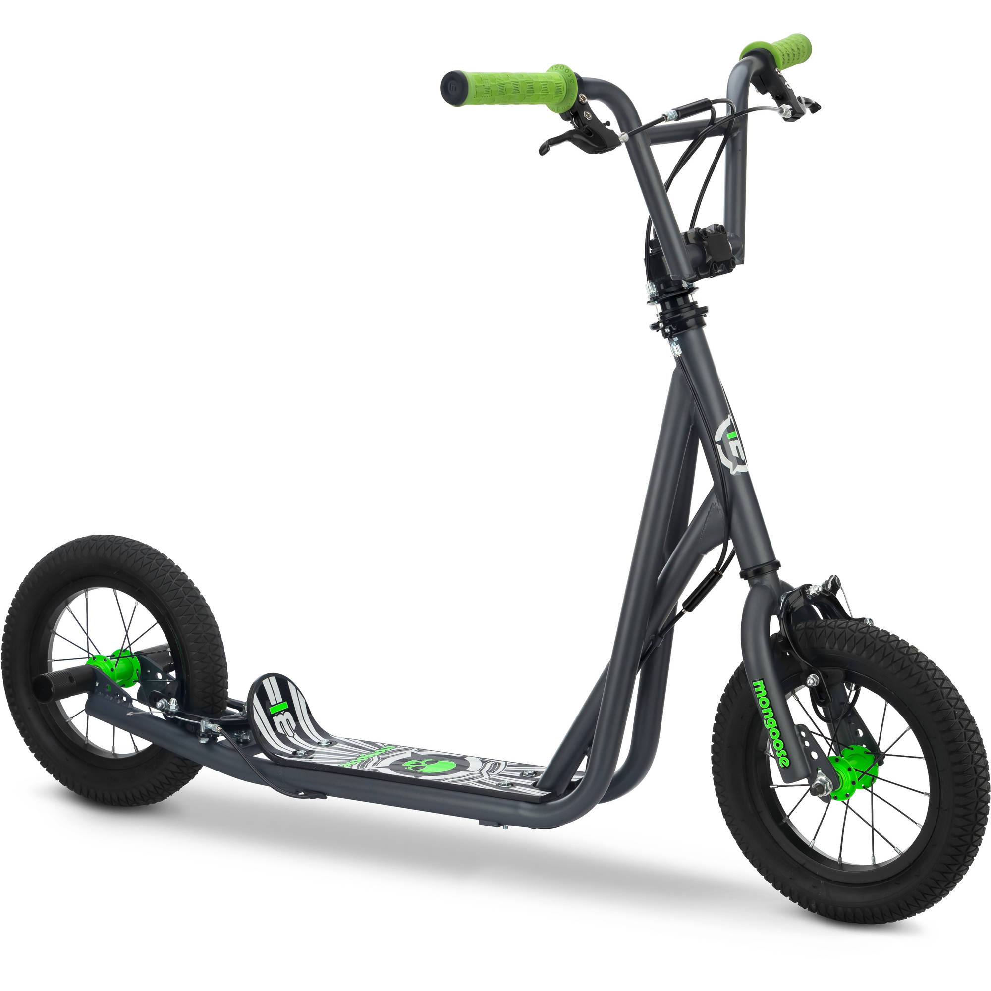 "Mongoose 12"" Expo Scooter, Gray"