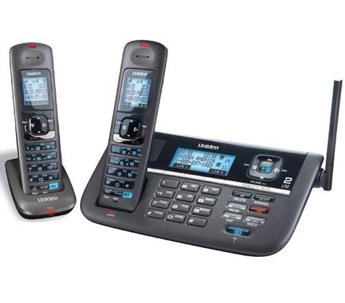 Uniden DECT4086-2 DECT 6.0 2 Line Cordless Phone System
