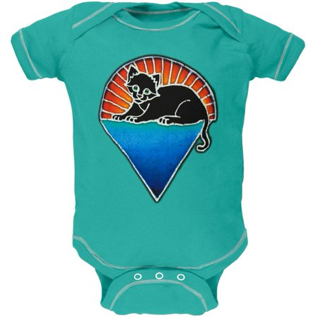 Jerry Garcia - Kitten Under Stars Baby One (Jerry Garcia Baby Clothes)