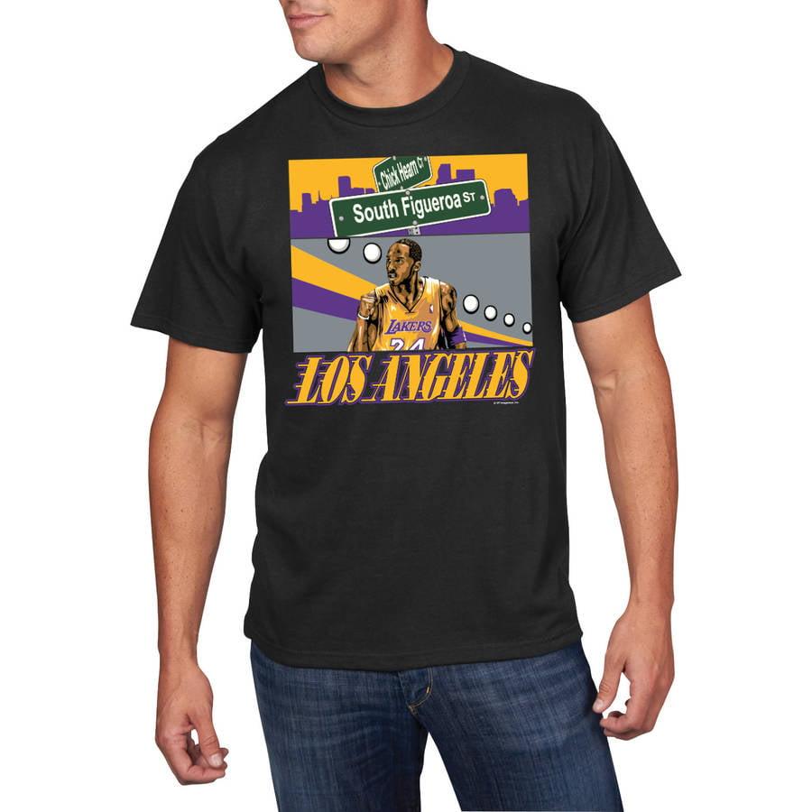 NBA Big Men's Los Angeles Lakers Kobe Bryant Player Tee