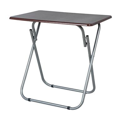 Home Basics Jumbo Multi-Purpose Foldable Table, Cherry
