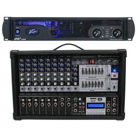 peavey ipr2 7500 lightweight class d professional power amplifier 7500w mixer. Black Bedroom Furniture Sets. Home Design Ideas