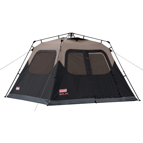 This photo shows the Coleman 6-person Instant Cabin Tent.