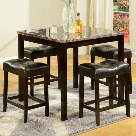 American Furniture Classics 5 Piece Counter Height Pub Table