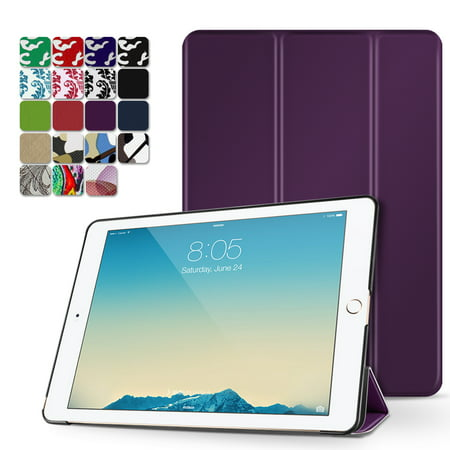 iPad Pro 9.7 Case - Slim Lightweight Shell Smart Cover Stand, Hard Back Protection with Auto Sleep Wake for Apple iPad Pro 9.7