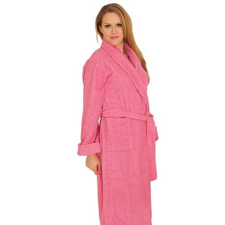 Full Length Chenille Robe 100% cotton ()