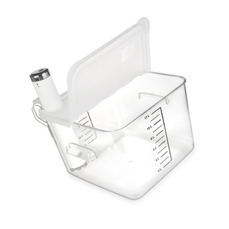 EVERIE Collapsible Hinged Sous Vide Container Lid Compatible with ChefSteps J...