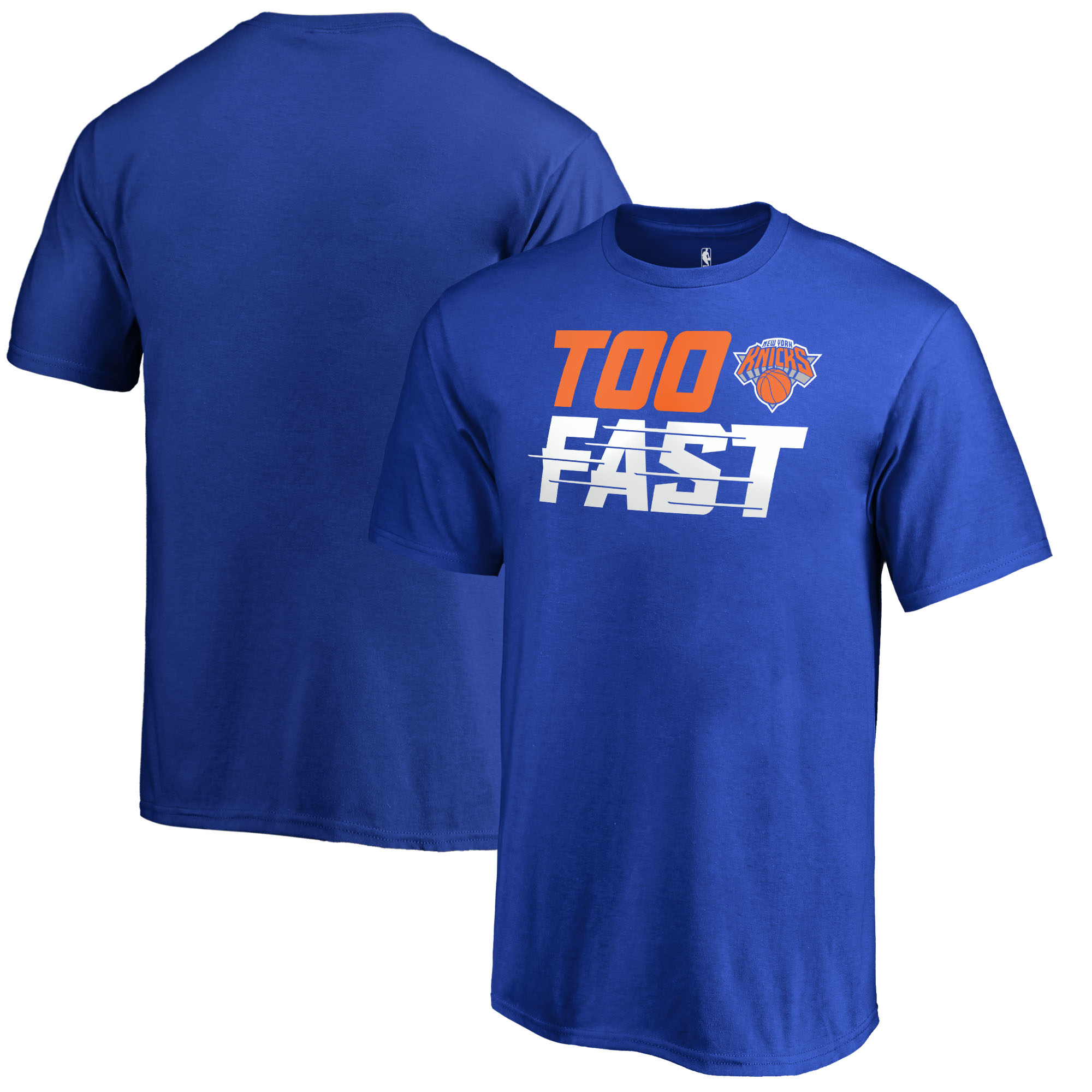 New York Knicks Fanatics Branded Youth Too Fast T-Shirt - Blue
