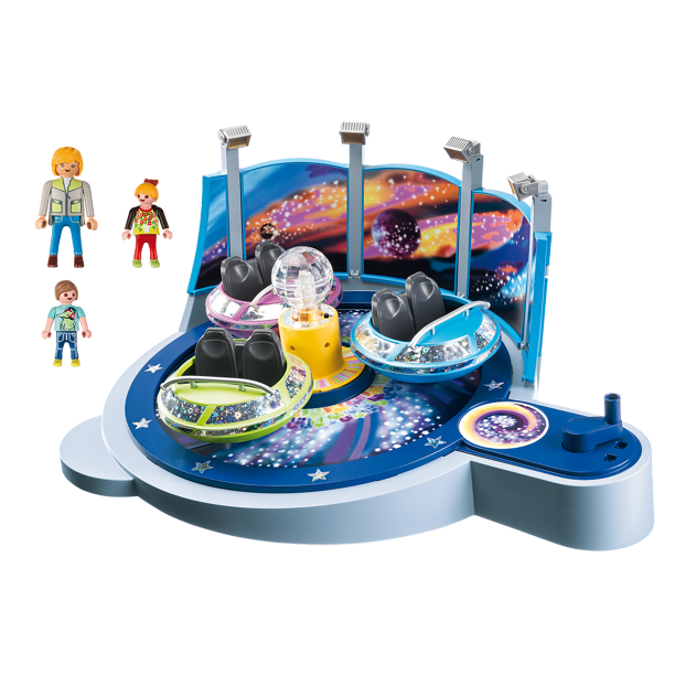 Playmobil Spinning Spaceship Ride With Lights Walmart Com Walmart Com
