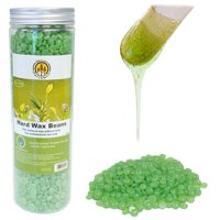 DevLon NorthWest Hard Wax Beans for Hair Removal Pearl Beads for Women and Men Self Waxing Tea Tree 400gram/Jar