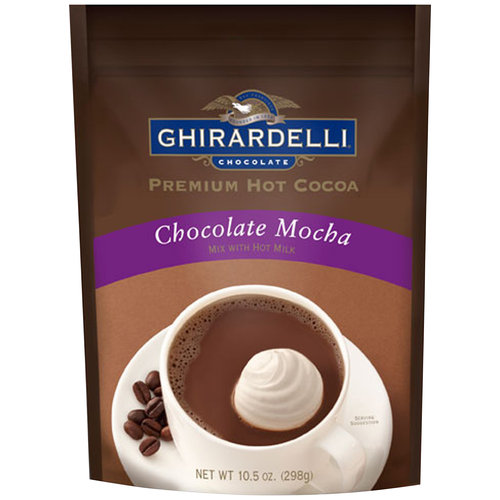 Ghirardelli Chocolate Mocha Premium Hot Cocoa, 10.5 oz